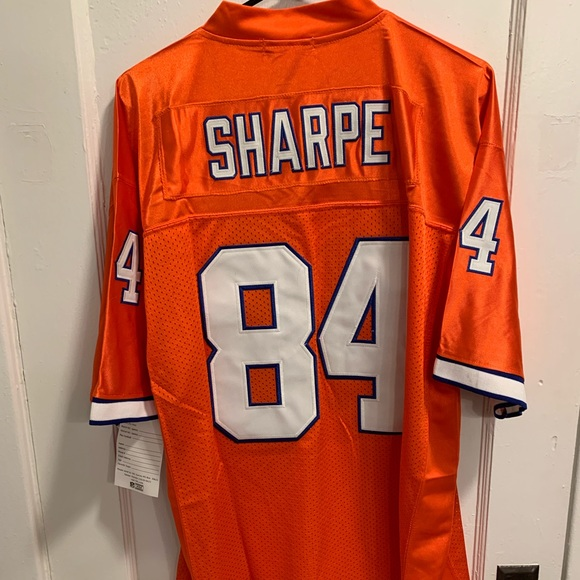 best sneakers f7c45 f42d9 Broncos Shannon Sharpe Jersey NWT